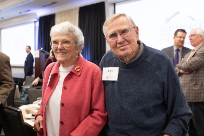2019 Award for Outstanding Philanthropic Achievement: Clifford and Jo Anne Trow