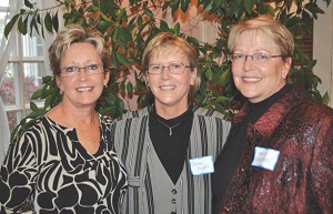 The Lagestee sisters: Fern, Shirley, and Nancy.