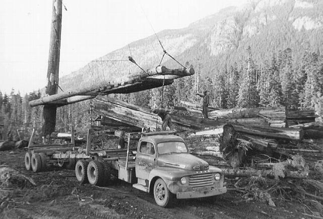 One of the Wilt logging operations in the forests of British Columbia